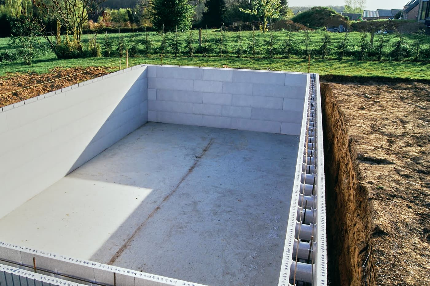 Autoconstruction piscine